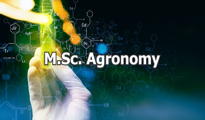 MSC Agronomy